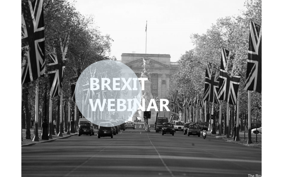 Webinar – Our new Solutions and Services around BREXIT