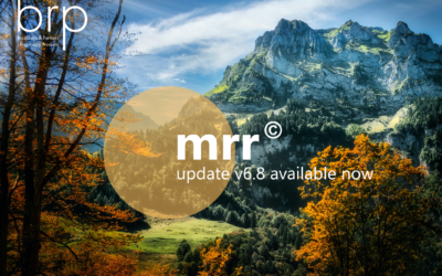mrr© – New version of the regulatory library (version 6.8)